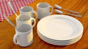tableware Στοκ Εικόνα