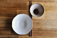 Tableware. Chinese style Stock Images