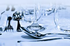 Tableware closeup Royalty Free Stock Images