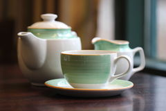 Tableware, coffee/tea Royalty Free Stock Images