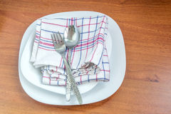 Tableware and cutlery Royalty Free Stock Image
