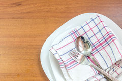 Tableware and cutlery Royalty Free Stock Images
