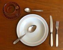 Tableware Elements Stock Image