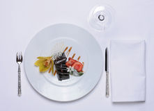 Tableware. Gourmet Food Stock Photos