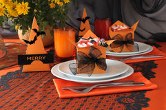 Tableware Halloween Royalty Free Stock Images