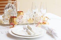 Tableware set Royalty Free Stock Image