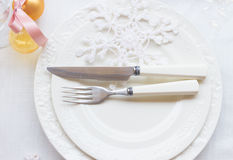 Tableware set Royalty Free Stock Image