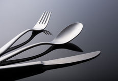 Tableware set. Modern Stock Image