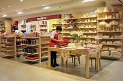 Tableware shop Royalty Free Stock Image