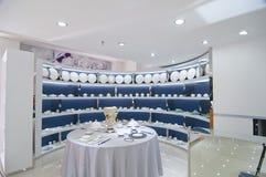 Tableware Shop Stock Image
