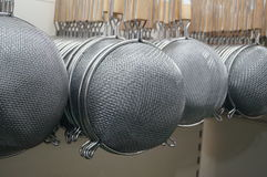Tableware strainer Royalty Free Stock Photography