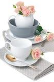 Tableware for tea Royalty Free Stock Photos