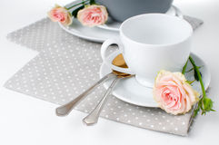 Tableware for tea Stock Photography