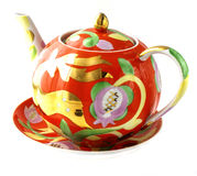 Tableware for tea, Cup, saucer royalty free stock photography