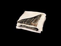 Tablewares в скатертях Стоковое Изображение