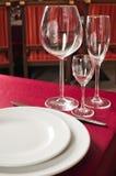 tablewares obraz stock