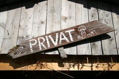 tablica ostrzeżenie Zdjęcie Stock