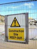 tablica ostrzeżenie zdjęcie royalty free