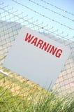 tablica ostrzeżenie Fotografia Stock