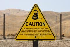 tablica ostrzeżenie Obraz Stock