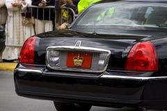 tablica rejestracyjna królewska Fotografia Royalty Free