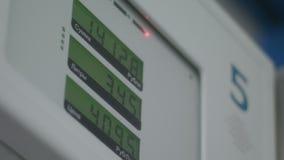Tablica wyników ceny benzynowa stacja zbiory wideo