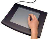 tablica zwracając graficzna ręce Obraz Stock
