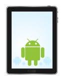 Tablilla androide Foto de archivo libre de regalías