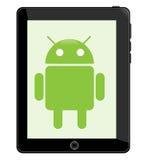 Tablilla androide Imagen de archivo libre de regalías