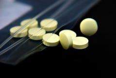 Tablilla de la medicación Fotografía de archivo