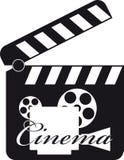 Tablilla de la película Imagen de archivo libre de regalías