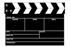 Tablilla de la película Fotos de archivo