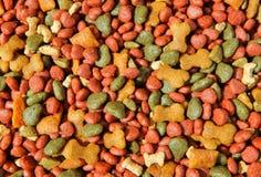 Tablilla del alimento de perro Imagen de archivo