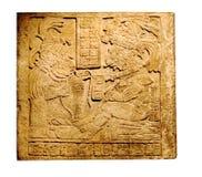 Tablilla maya Fotos de archivo