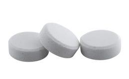 Tablillas de la aspirina Imágenes de archivo libres de regalías