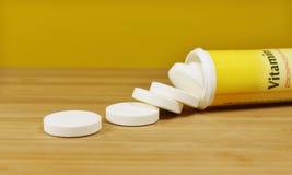 Tablillas de vitamina Imagen de archivo