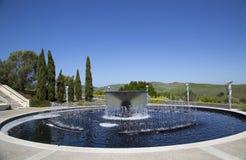 ?tablissement vinicole d'Artesa dans Napa Valley, la Californie Photographie stock