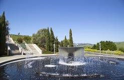 ?tablissement vinicole d'Artesa dans Napa Valley, la Californie Image libre de droits