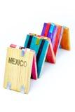 Tablitas magicas -魔术片剂墨西哥人玩具 图库摄影