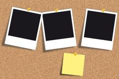 Tablón de anuncios del corcho Imagen de archivo libre de regalías