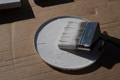 Tablones blancos Imagen de archivo