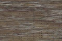 Tablones con los clavos Imagen de archivo libre de regalías
