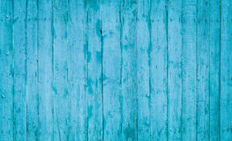Tablones de madera azules Fotografía de archivo libre de regalías