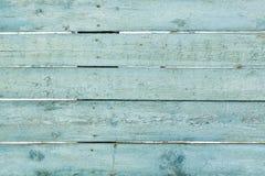 Tablones de madera azules Fotos de archivo