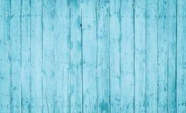Tablones de madera azules claros Fotos de archivo libres de regalías