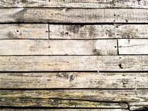 Tablones de madera blanqueados foto de archivo