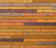 Tablones de madera coloreados fondo o textura Foto de archivo