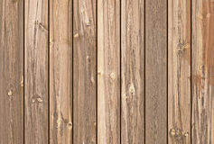 Tablones de madera de Brown como fondo o textura Imágenes de archivo libres de regalías