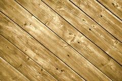 Tablones de madera del decking. Foto de archivo