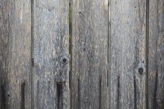 Tablones de madera grises del fondo Fotografía de archivo